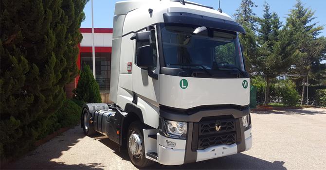 Asmer Mermer'e Renault Trucks gücü