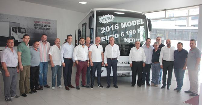 Anadolu Isuzu Yeni Novo S'i İzmir'de Tanıttı