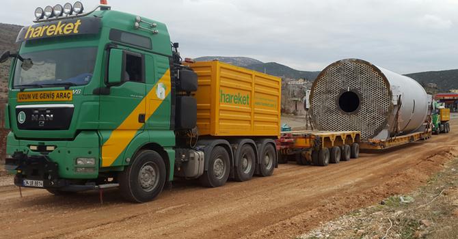 Mardin'de 1087 tonluk dev taşıma