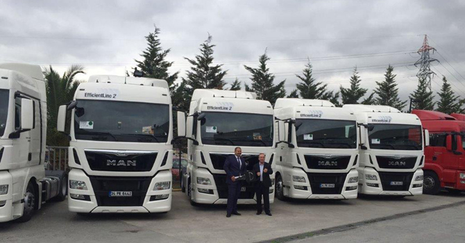 Ares International Transport da MAN'ı tercih etti