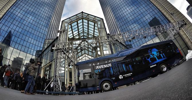 TEMSA'dan elektrikli otobüs Avenue EV