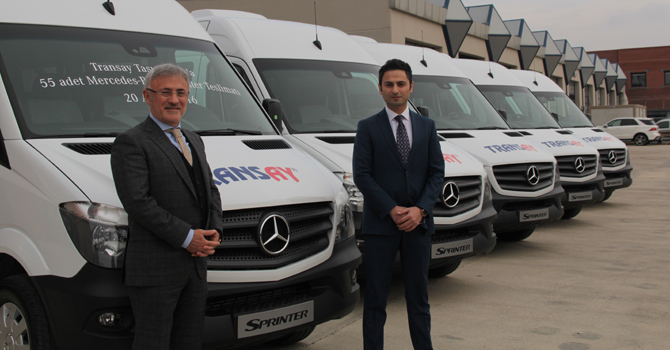 Transay Turizm'den 55 adetlik Sprinter yatırımı