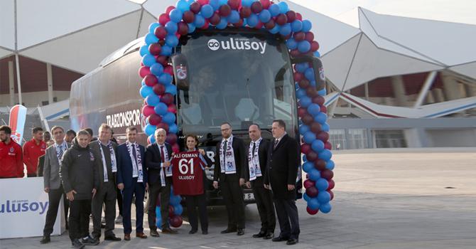 Trabzonspor'un Otobüsleri Ulusoy'dan