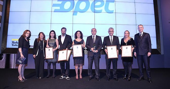 OPET,  sektöründe yılın en başarılı markası oldu