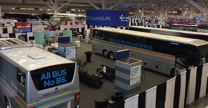 TEMSA, ABD'li otobüsçülerle buluştu