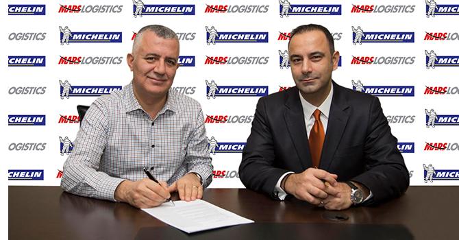 Mars Logistics bir kez daha Michelin dedi