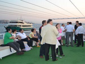 Lojistik Derneği üyeleri Tekne Gezisinde buluştu