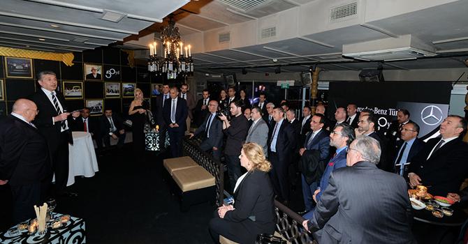 Mercedes-Benz Türk 50. yıl dönümünü kutladı