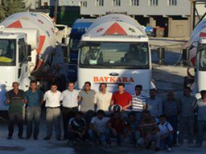 Baykara Hazır Beton firmasına 6 adet Ford Cargo