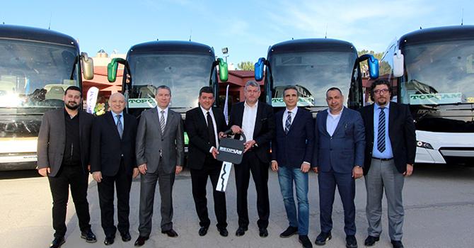 Topçam Turizm'e NEOPLAN Yeni Tourliner