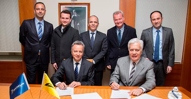 Gökbora 2019'a kadar Michelin ile çalışacak