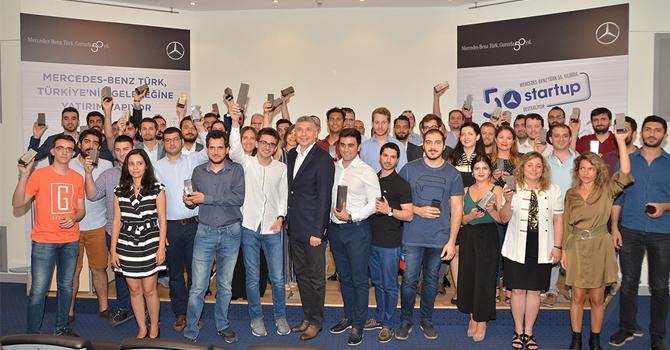 Mercedes-Benz Türk'ten 50 startup'a 500.000 TL destek
