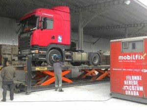 Mobil TIR servisi Mobilfix, Anadolu turu düzenledi
