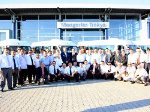Ankara belediyesinin filosuna 250 adet körüklü otobüs geliyor