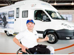 Iveco Camper'den Paralimpik atlet Vittorio Podestà'ya destek