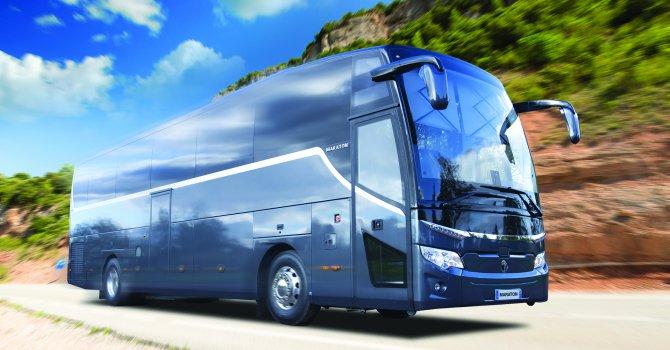 7 ayda 379 adet seyahat otobüsü