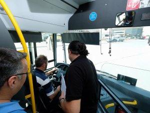 Halk otobüs şoförleri eğitimlerini tamamladı