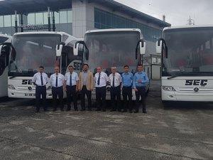 Seç Turizm 2+1 otobüslerini teslim aldı