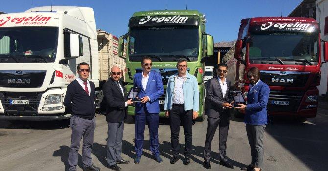 Egelim Lojistik, 62 adet MAN çekici ve kamyon satın aldı