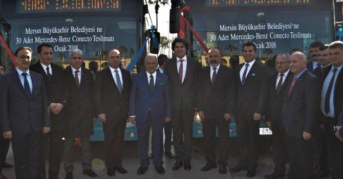 Mersin Büyükşehir Belediyesi'ne 30 adet Conecto