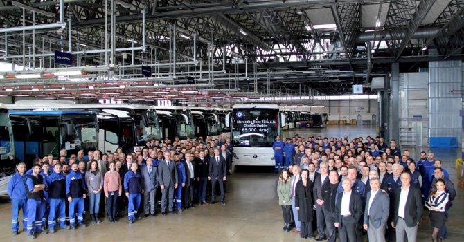 Mercedes- Benz üretimde hız kesmiyor