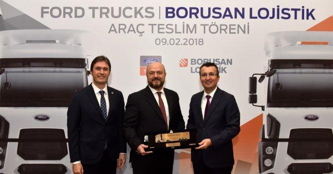 Borusan Lojistik'e 19 adet Ford Trucks