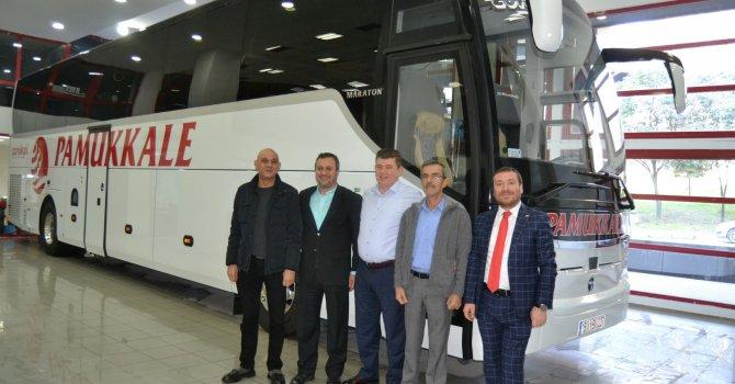 Pamukkale Turizm'e 3 Temsa otobüs