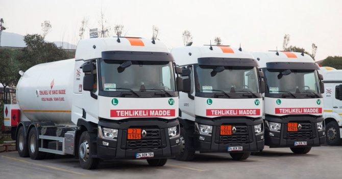 OMSAN'a 65 adet Renault Trucks