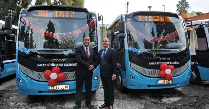 23 adet Sultan LF Otobüs Minibüs Kooperatifi'ne teslim edildi