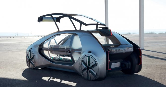 Renault'dan Otomobil fuarında konsept model