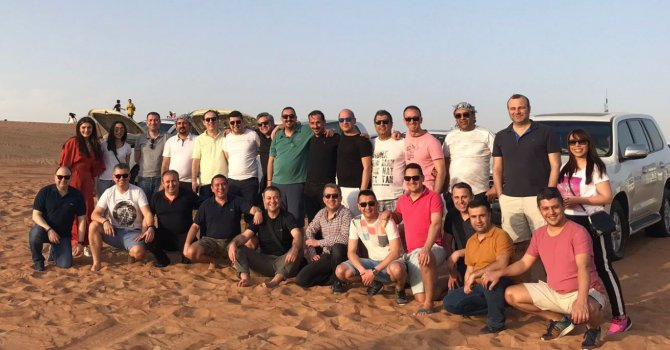 Volkswagen Ticari Araç'ın başarılı satış ekiplerine Dubai gezisi