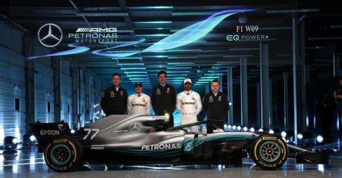 Mercedes F1'e hazırlanıyor geri sayım başladı