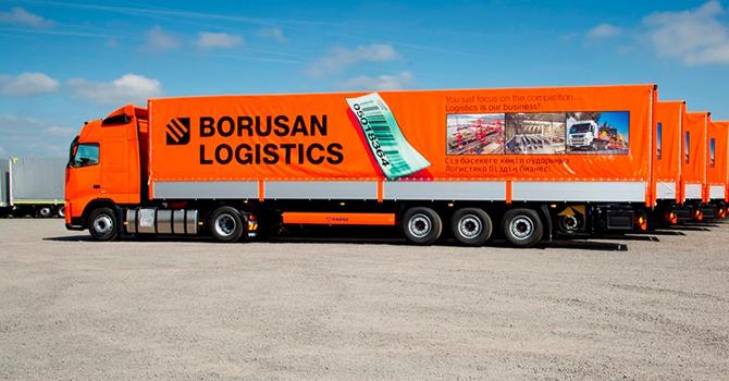 Borusan Lojistik'ten bir ilk