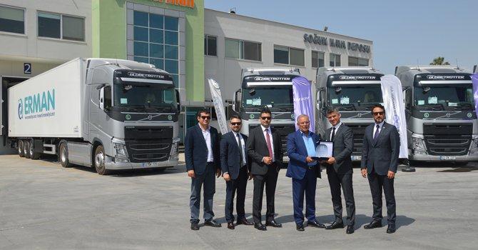 Erman Group tercihi Volvo Trucks oldu