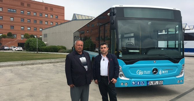 Mercedes-Benz türk otobüs teslimatları