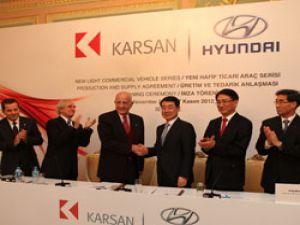 Karsan ve Hyundai'den önemli adım