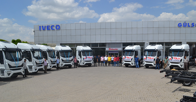 IVECO 14 adet Eurocargo'yu teslim etti