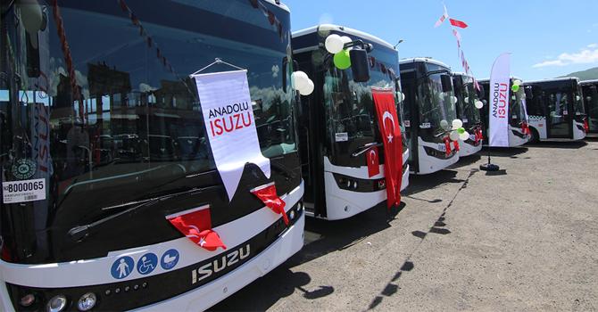Anadolu Isuzu'dan dev teslimat