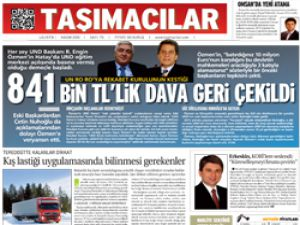 Taşımacılar Lojistik Gazetesi Yeni Sayı