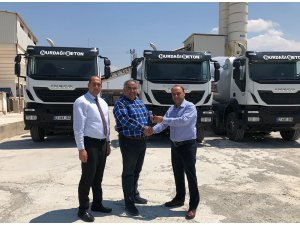 Iveco Nurdağ Beton ile teslimat gerçekleştirdi