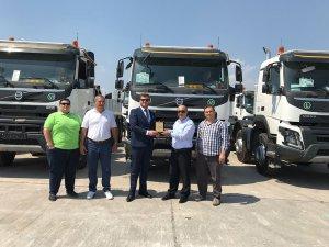 Demirkardeşler Volvo Trucks FMX kamyonlar ile güçlendirdi