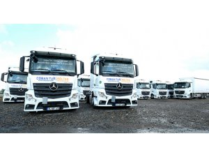 Mercedes-Benz'den yeni Actros teslimatı