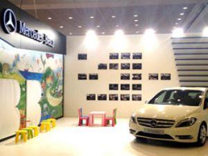 Mercedes-Benz İstanbul Baby Show Fuarı'nda