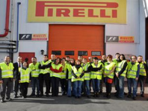 Sektör basını Pirelli fabrikasını gezdi