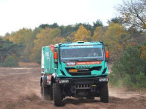 Iveco Dakar 2013 için Güney Amerika yolunda