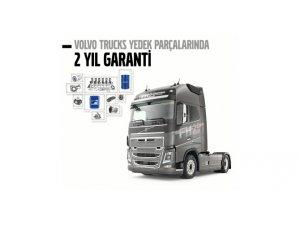 Volvo Trucks yedek parçaları artık 2 yıl garantili
