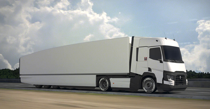 Renault Trucks'tan yeni proje çalışmaları