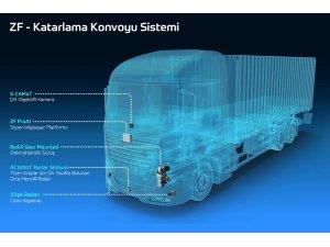 ZF ile Ticari araçlarda katarlama konvoyu oluşturuluyor
