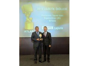 Atlas Lojistik Ödülleri'nden OMSAN Lojistik'e ödül