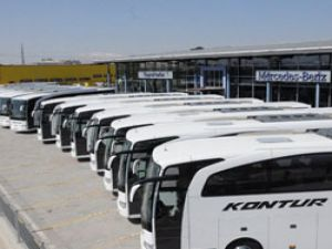 Mercedes Benz Türk'ten Kontur'a 15 adet Travego